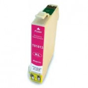 Epson T1813 inkt cartridge Magenta (10ML) met chip - Huismerk