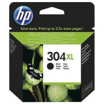 HP N9K08AE inkt cartridge Zwart (304XL) 5,5ML - Origineel